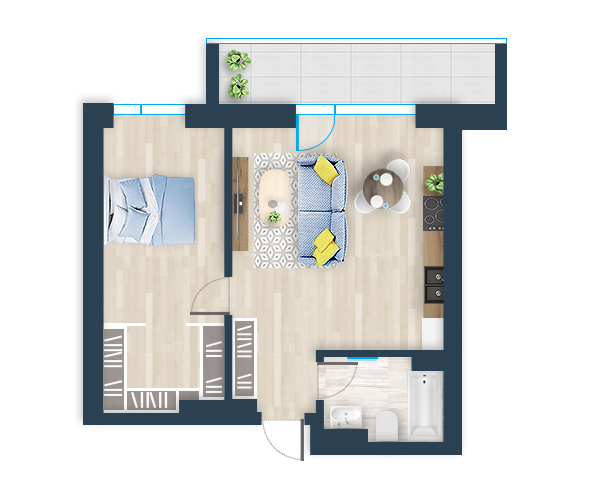 Naujas butas 12, Pilaitėje, Vilniuje