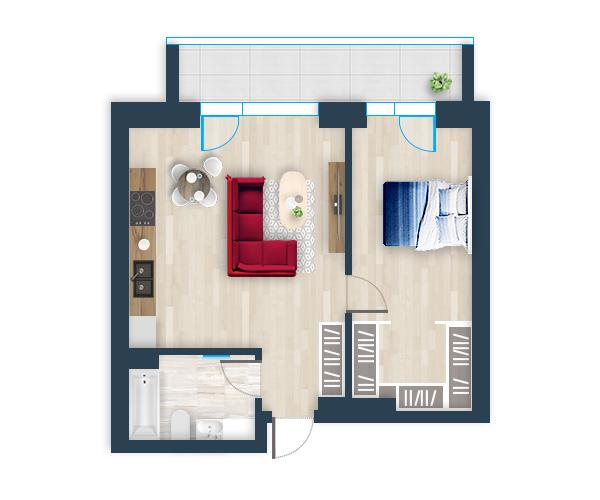 Naujas butas 13, Pilaitėje, Vilniuje