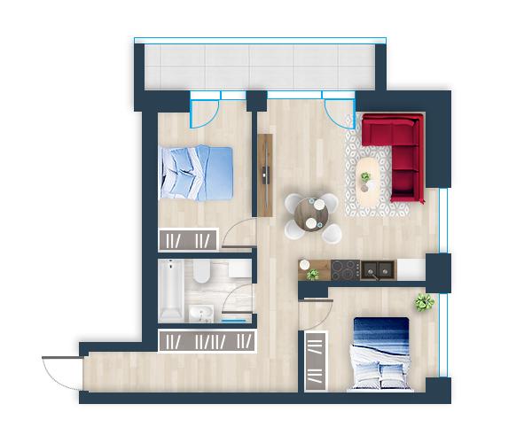 Naujas butas 14, Pilaitėje, Vilniuje