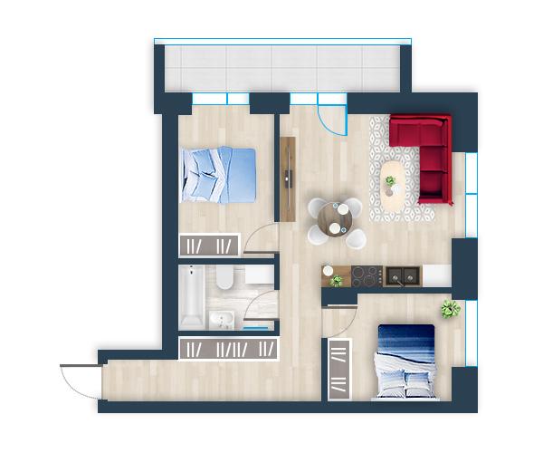 Naujas butas 22, Pilaitėje, Vilniuje