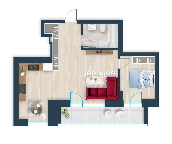 Naujas butas 24, Pilaitėje, Vilniuje