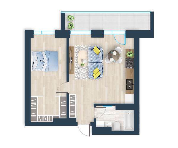 Naujas butas 28, Pilaitėje, Vilniuje