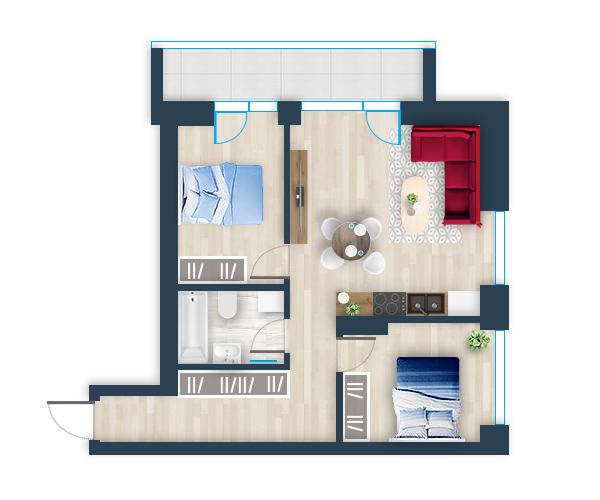 Naujas butas 30, Pilaitėje, Vilniuje
