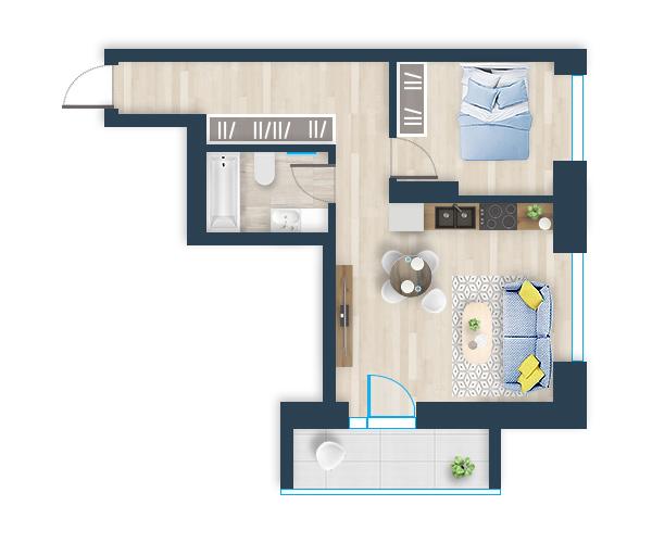 Naujas butas 31, Pilaitėje, Vilniuje
