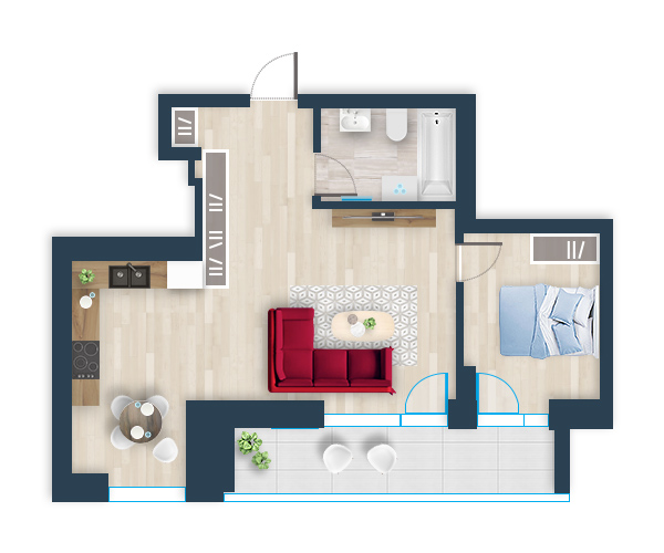 Naujas butas 32, Pilaitėje, Vilniuje