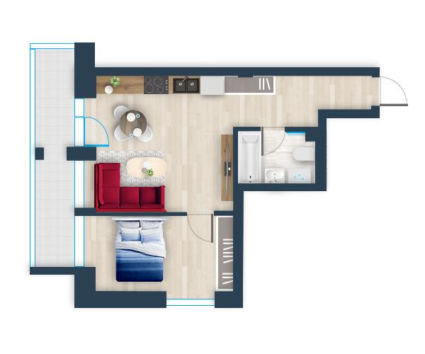 Naujas butas 34, Pilaitėje, Vilniuje