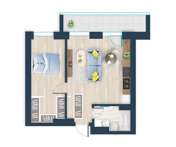 Naujas butas 36, Pilaitėje, Vilniuje