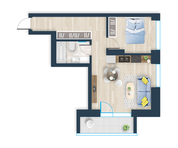 Naujas butas 39, Pilaitėje, Vilniuje