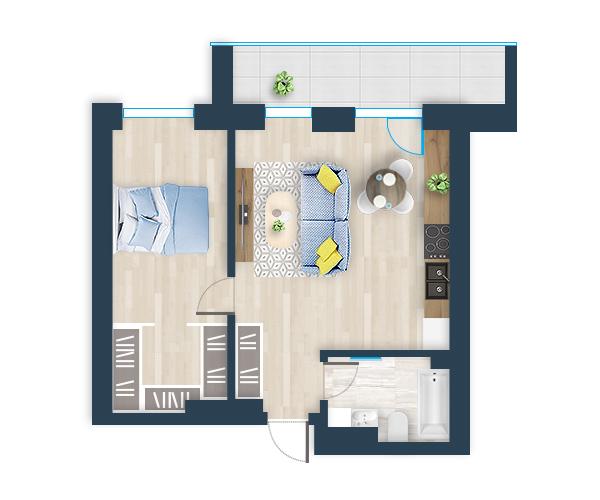Naujas butas 4, Pilaitėje, Vilniuje